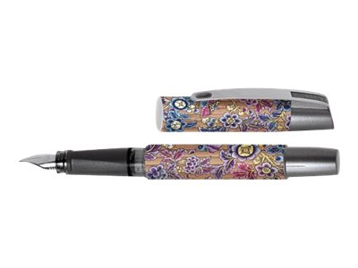 ONLINE YOUNG.LINE Campus Bamboo Flowers - Stylo plume - bleu