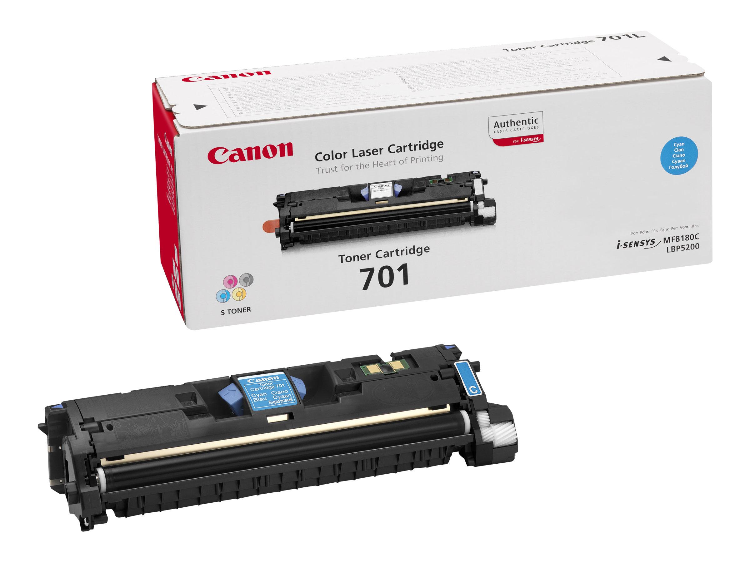 Canon 701 - cyan - original - toner