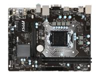MSI H110M PRO-VH - carte-mère - micro ATX - Socket LGA1151 - H110