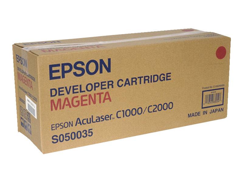 Epson S050035 - magenta - originale - cartouche de développeur