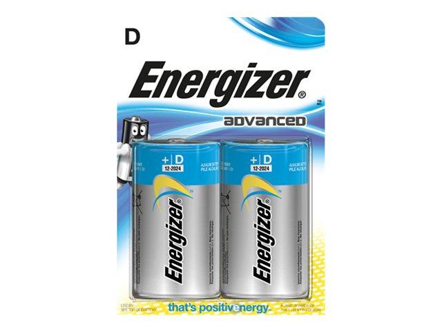 Energizer Advanced batterie - D - Alcaline x 2