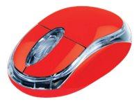 TX MS1 - souris - USB - rouge