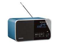 Grundig DTR 4000 DAB+ BT DAB bærbar radio pearled blue