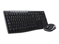 Logitech Wireless Combo MK270 - Keyboard and mouse set - wireless