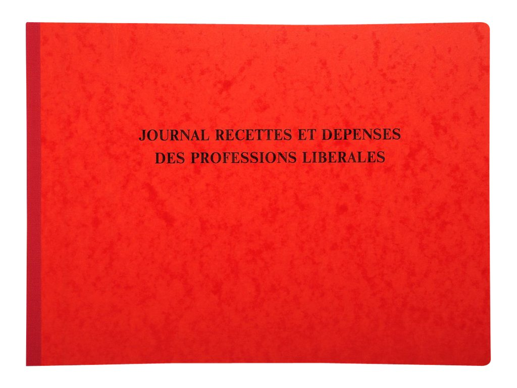 Exacompta - journal des recettes et dépenses des professions libérales