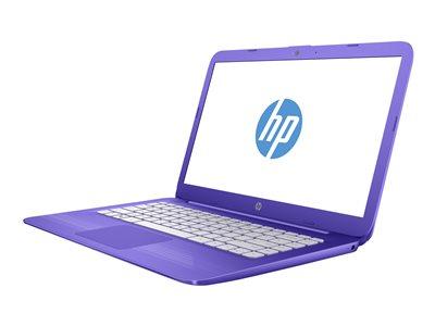 HP Stream 14-ax002nc - Celeron N3060 / 1.6 GHz - Win 10 Home 64-bit - 4 GB RAM - 32 GB eMMC - 14