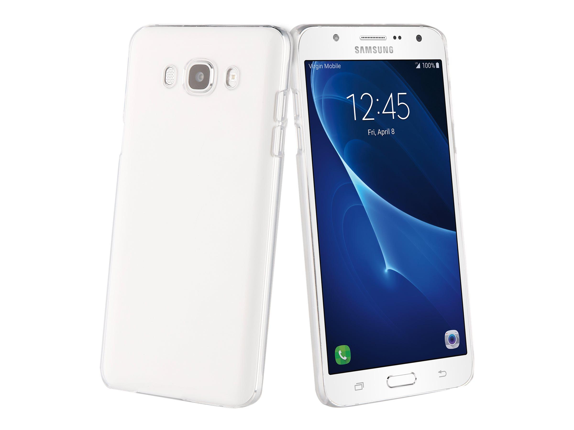 Muvit Clear Case - Coque de protection pour Samsung Galaxy J7 - transparent