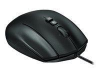 Logitech Gaming Mouse G600 MMO Mouse - right-handed - laser - 20 buttons - wired - USB - black