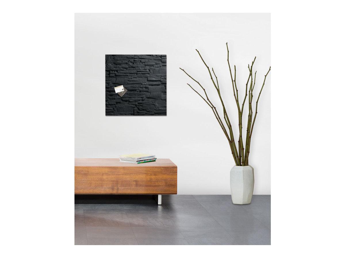 Sigel artverum tableau en verre 480 x 480 mm for Tableau ardoise magnetique