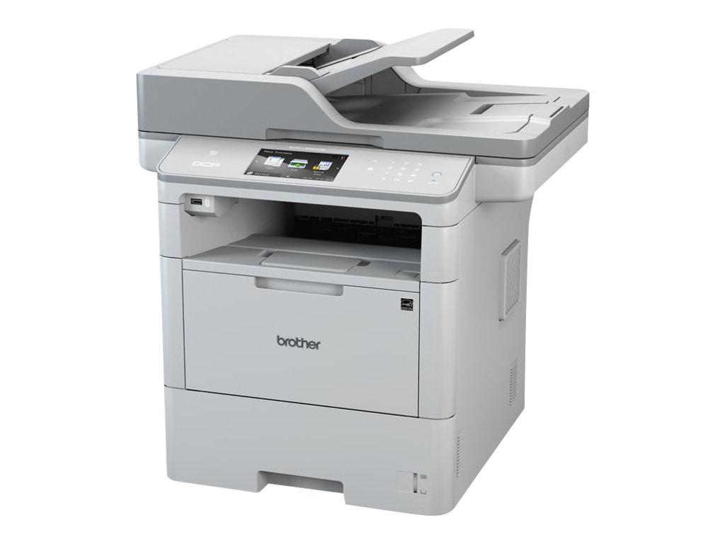 Brother DCP-L6600DW - imprimante multifonctions (Noir et blanc)