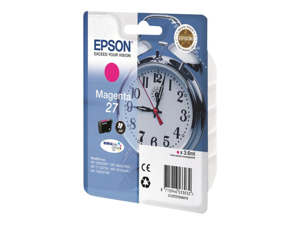Epson 27 - magenta - originale - cartouche d'encre