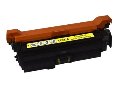 UPrint H.654AY - jaune - remanufacturé - cartouche de toner (alternative for: HP 654A)