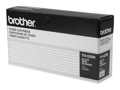Brother - noir - original - cartouche de toner - tn02bk
