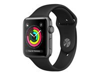 Apple Watch Series 3 (GPS) 42 mm rumgråt aluminium