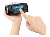02.Camescope HDD et Hybride Vue de droite