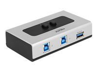 Delock Switch USB 3.0 2 port manual bidi, Delock Switch USB 3.0