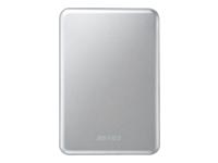 BUFFALO MiniStation Slim Harddisk 1 TB ekstern (bærbar) USB 3.0 sølv