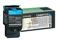 Lexmark - à rendement élevé - cyan - originale - cartouche de toner - LCCP, LRP