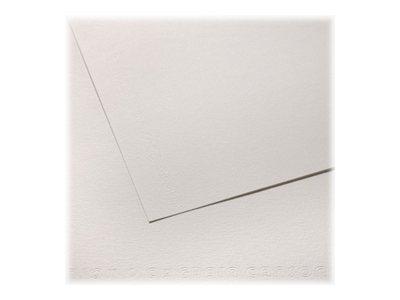 """CANSON """"C"""" à grain - Papier à dessin - 50 x 65 cm - 224 g/m² - blanc"""