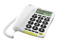 Image of DORO PhoneEasy 312cs - corded phone with caller ID