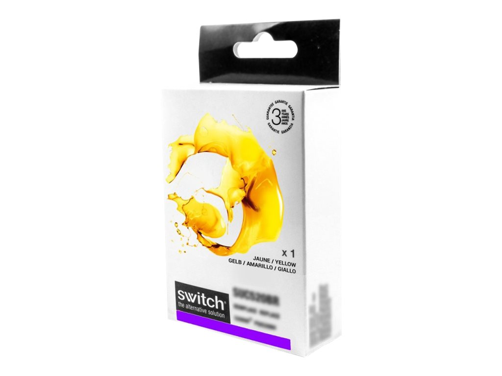 SWITCH - jaune - cartouche d'encre (alternative for: Lexmark 100XL)