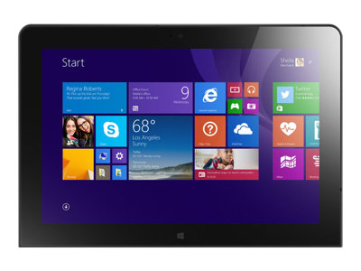 "Lenovo ThinkPad 10 20C3 - Tablet - Atom Z3795 / 1.59 GHz - Win 8.1 Pro 32-bit - 2 GB RAM - 64 GB eMMC - 10.1"" IPS touchscreen 1920 x 1200 - HD Graphics - graphite black"