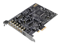 Creative Sound Blaster Audigy RX Lydkort 24 bit 192 kHz 106 dB SNR 7.1