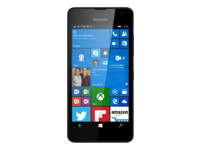 Microsoft Lumia 550 - noir - 4G HSPA+ - 8 Go - GSM - téléphone intelligent Windows