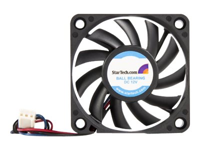 Image of StarTech.com 60x10mm Replacement Ball Bearing Computer Case Fan w/ TX3 Connector - system fan kit