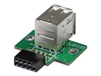 StarTech.com 2 Port USB Motherboard Header Adapter