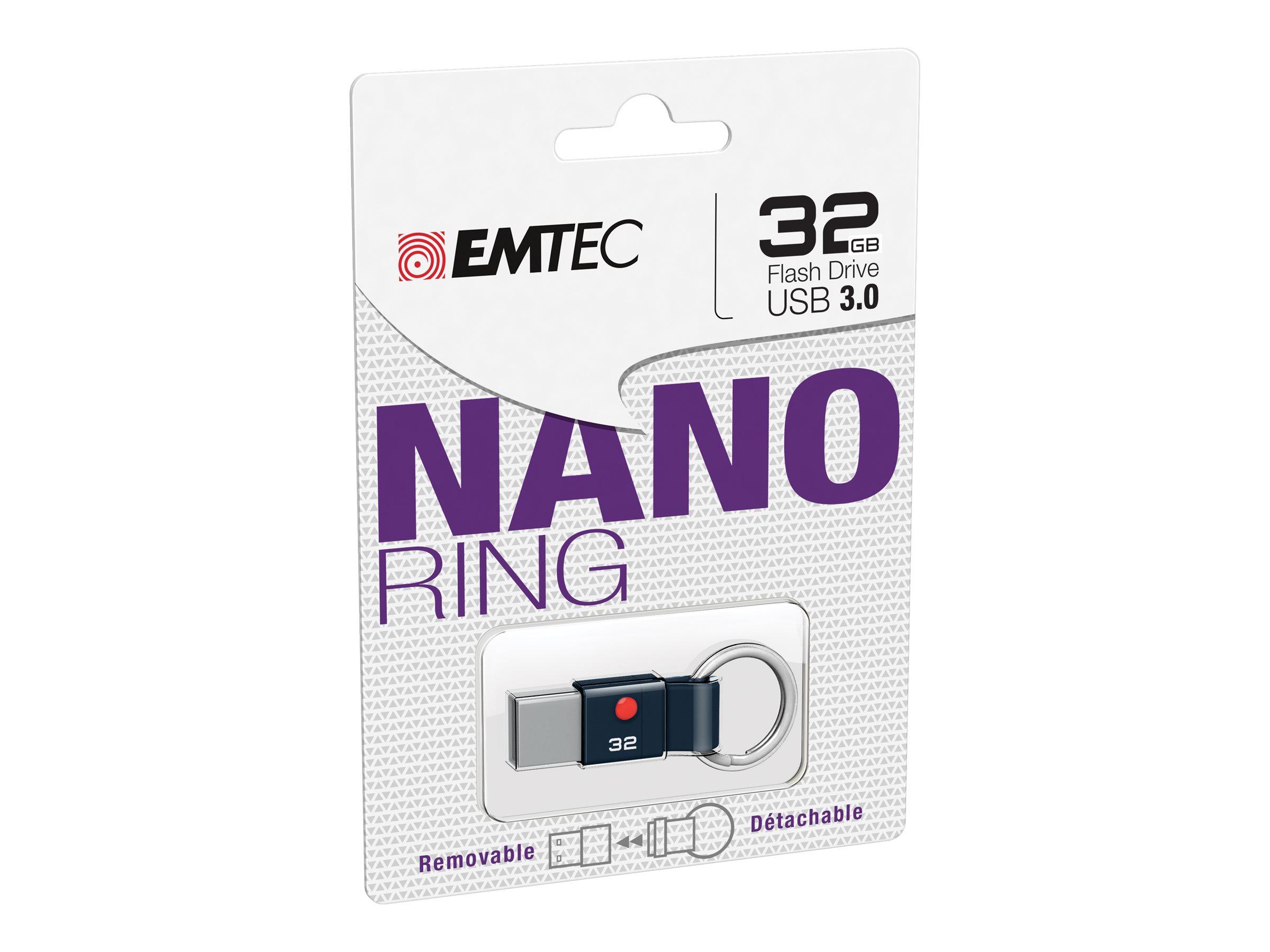 EMTEC Classic Nano Ring - clé USB - 32 Go