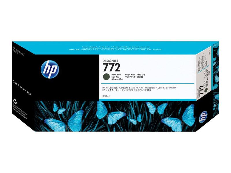 HP 772 - noir mat - originale - cartouche d'encre