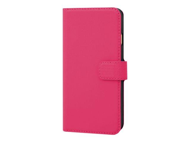 Muvit Wallet Folio - Protection à rabat pour iPhone 6 - avec range-cartes - rose