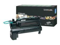 LEXMARK, Toner/black 6000sh f C792 X792