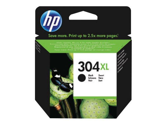HP 304XL - à rendement élevé - noir - originale - cartouche d'encre