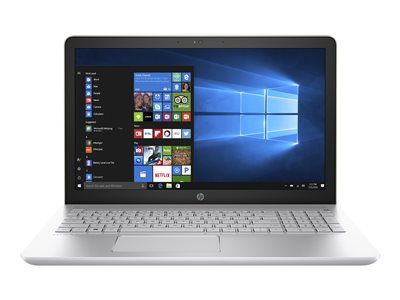 "HP Pavilion 15-cc510nr - Core i5 7200U / 2.5 GHz - Win 10 Home 64-bit - 8 GB RAM - 1 TB HDD - 15.6"" 1366 x 768 (HD) - HD Graphics 620 - Wi-Fi, Bluetooth - mineral silver (cover), natural silver (keyboard frame and base) - kbd: US"