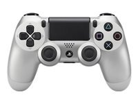 Sony Dual Shock 4 Gamepad trådløs Bluetooth sølv