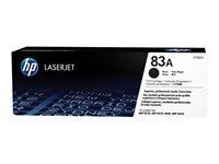 HP 83A - CF283A - toner cartridge - 1 x black - 1500 pages -