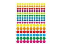 Oberthur Géométriques - 324 Gommettes - ronde vives