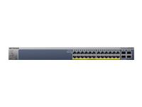 NETGEAR ProSAFE GS728TP - commutateur - 24 ports - Géré - Ordinateur de bureau, Montable sur rack