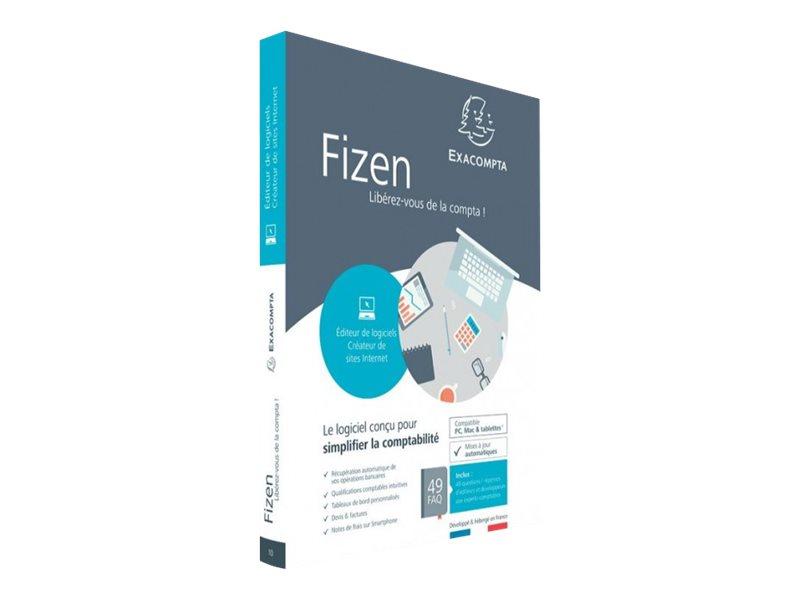 Fizen Éditeur de logiciels / Créateur de sites internet - ensemble de boîtes