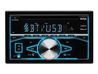 BOSS 850BRGB - Car - CD receiver - in-dash - Double-DIN - 80 Watts x 4