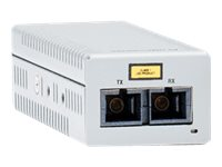 Allied Telesis, Desktop Mini Media Converter, 100TX to 100FX SC