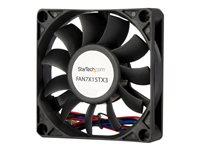 StarTech.com 70x15mm Replacement Ball Bearing Computer Case Fan w/ TX3 Connector