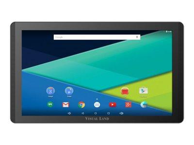 "Visual Land PRESTIGE Elite 13Q - Tablet - Android 5.0 (Lollipop) - 64 GB - 13.3"" IPS (1920 x 1080) - microSD slot - black - with Pro Folio Case"