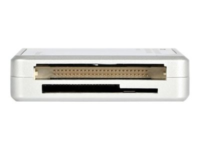 Startech.com 14-In-1 Usb 2.0 High Capacity Silver Multi Media Memory Card Reader