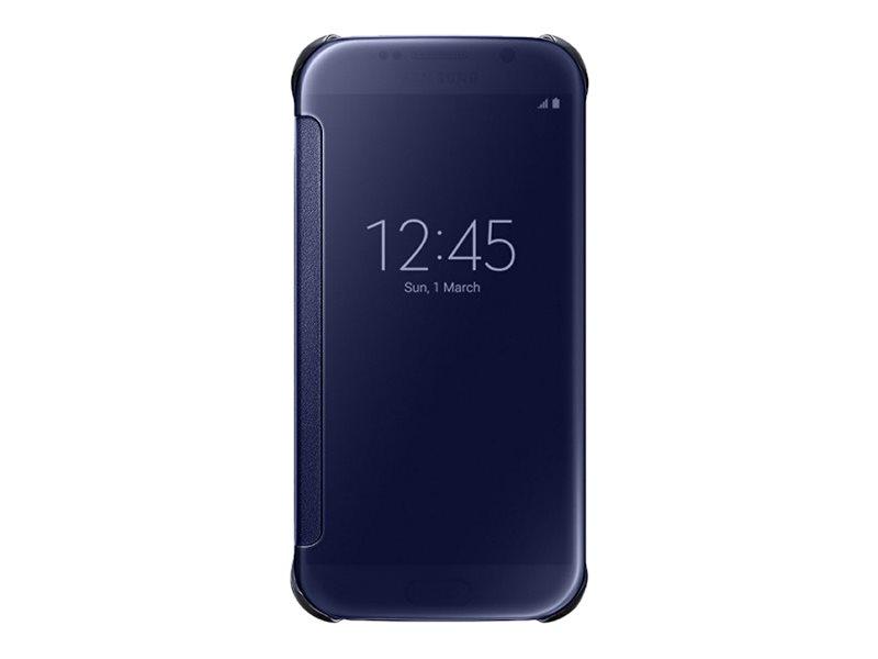 Samsung Clear View Cover EF-ZG920B - Protection à rabat pour GALAXY S6 - différents coloris