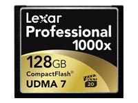Lexar Professional UDMA - carte mémoire flash - 128 Go - CompactFlash