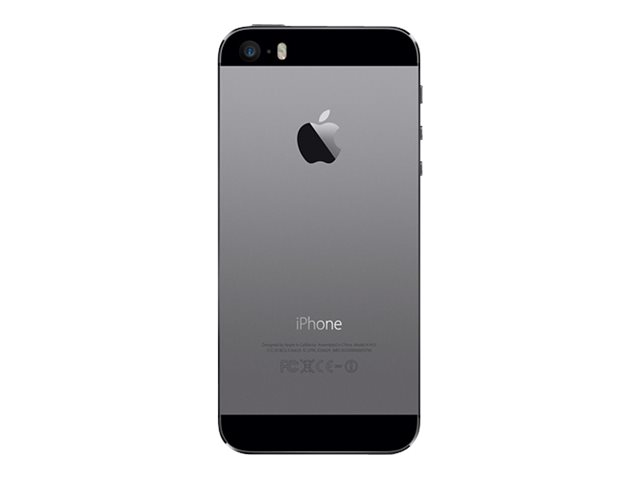 apple iphone 5s gris 4g lte 16 go gsm smartphone. Black Bedroom Furniture Sets. Home Design Ideas