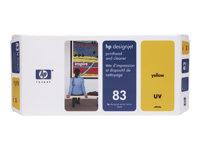 83 hlava a čistič yellow UV